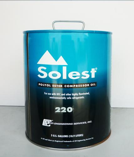 Solest 220最新多元醇酯,环保型合成冷冻油